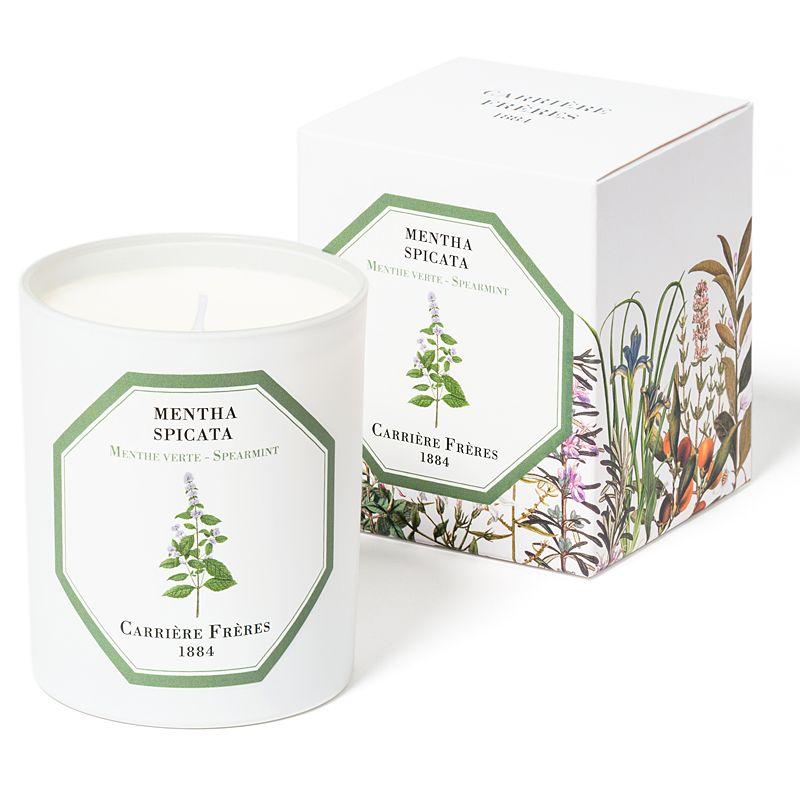 Carriere Freres Spearmint Candle with box