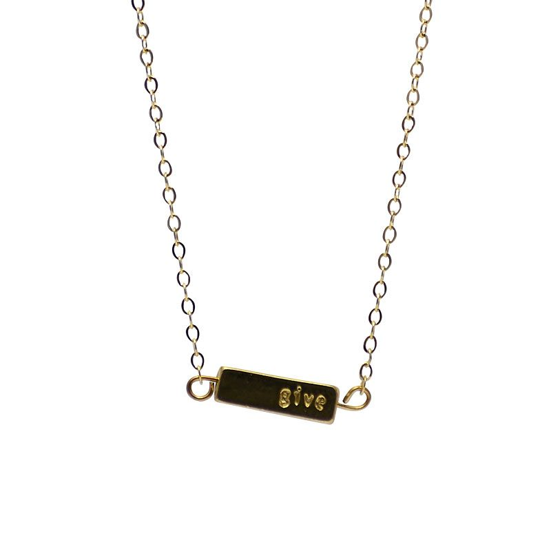 Half United Gold Give Back Necklace (1 pc)