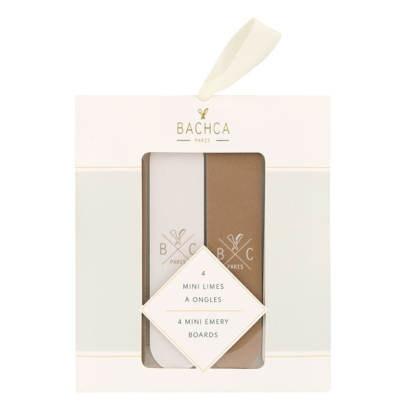Bachca Small Emery Boards Set in packaging