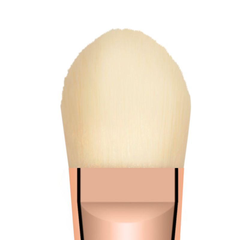 Bachca Foundation Brush - tip close-up