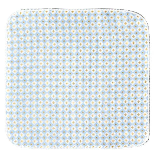 Kontex Haikara Little Handkerchief Blue Cross - full cloth