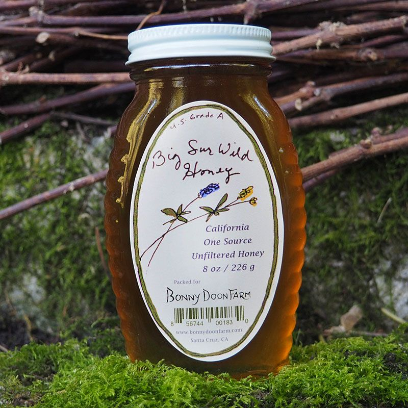 Bonny Doon Farm Big Sur Wild Honey - beauty shot