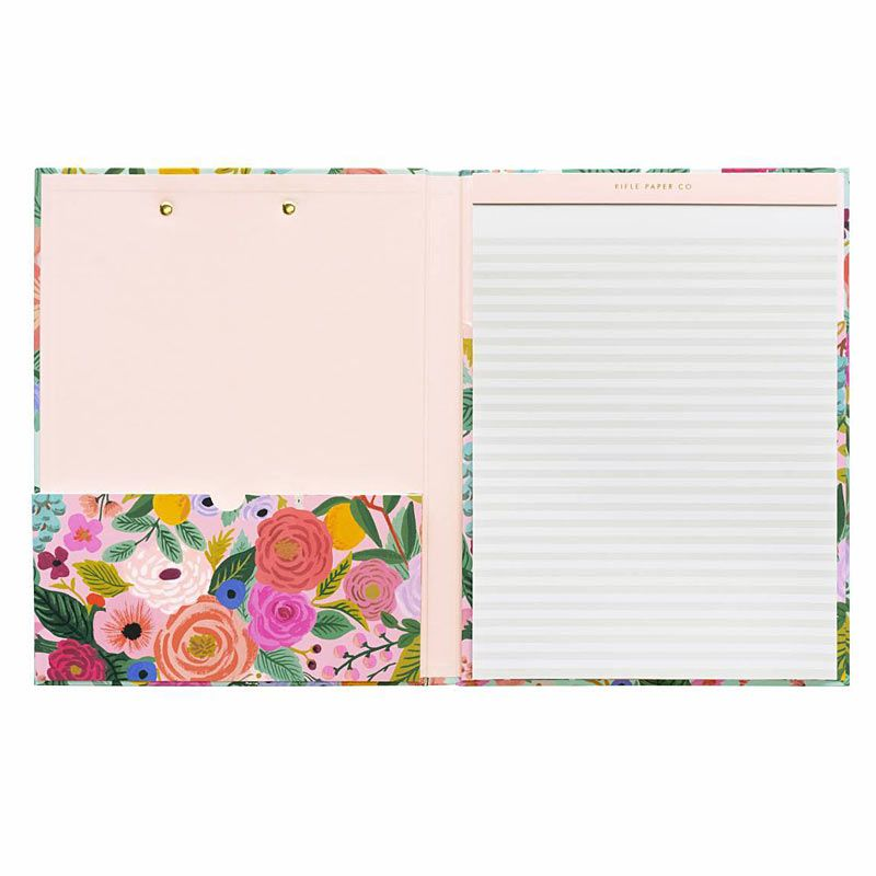 Rifle Paper Co. Garden Party Clipfolio opened