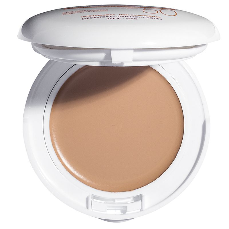 Eau Thermale Avene Mineral High Protection Tinted Compact SPF 50 - Beige (10 g) open compact