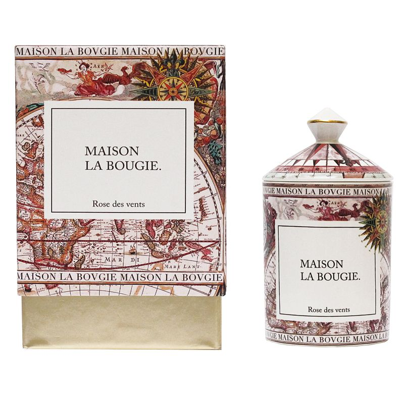Maison La Bougie Candle - Rose Des Vents (300 g) and box