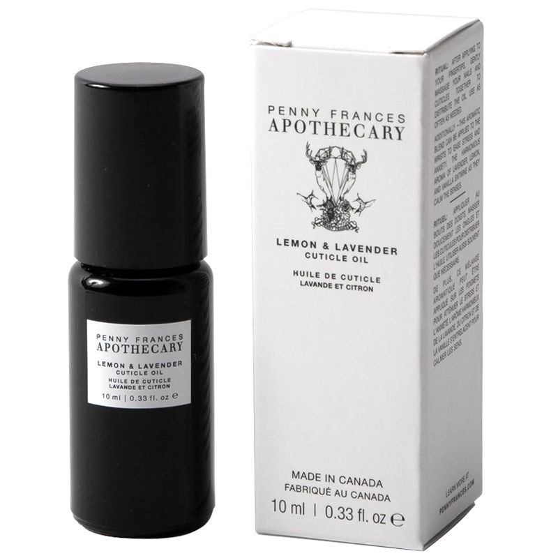 Penny Frances Apothecary Lemon & Lavender Cuticle Oil with box