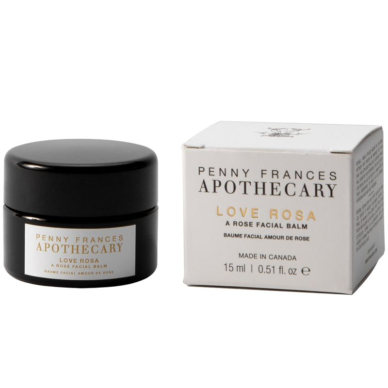 Penny Frances Apothecary Love Rosa A Rose Facial Balm with box