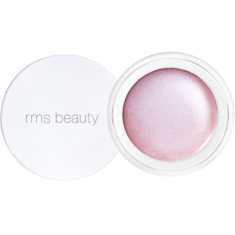 RMS Beauty Luminizer Amethyst Rose open with lid