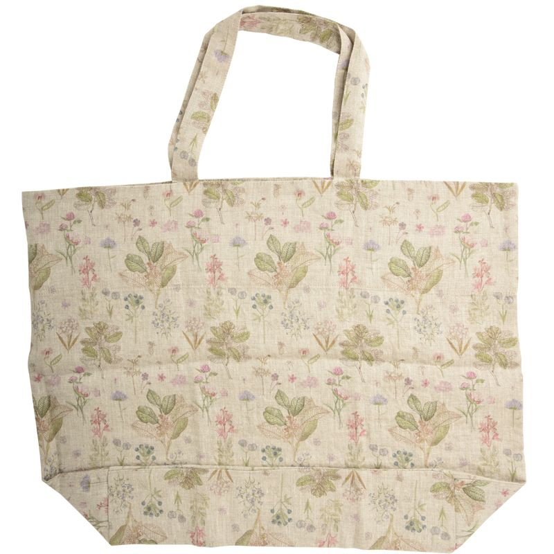 Linen Tales Linen Bag with Print - Botany