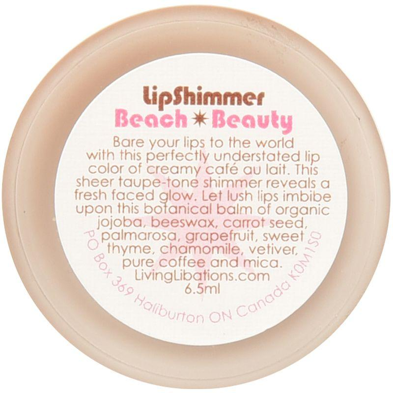 Living Libations Beach Beauty Lip Shimmer (6.5 ml) bottom