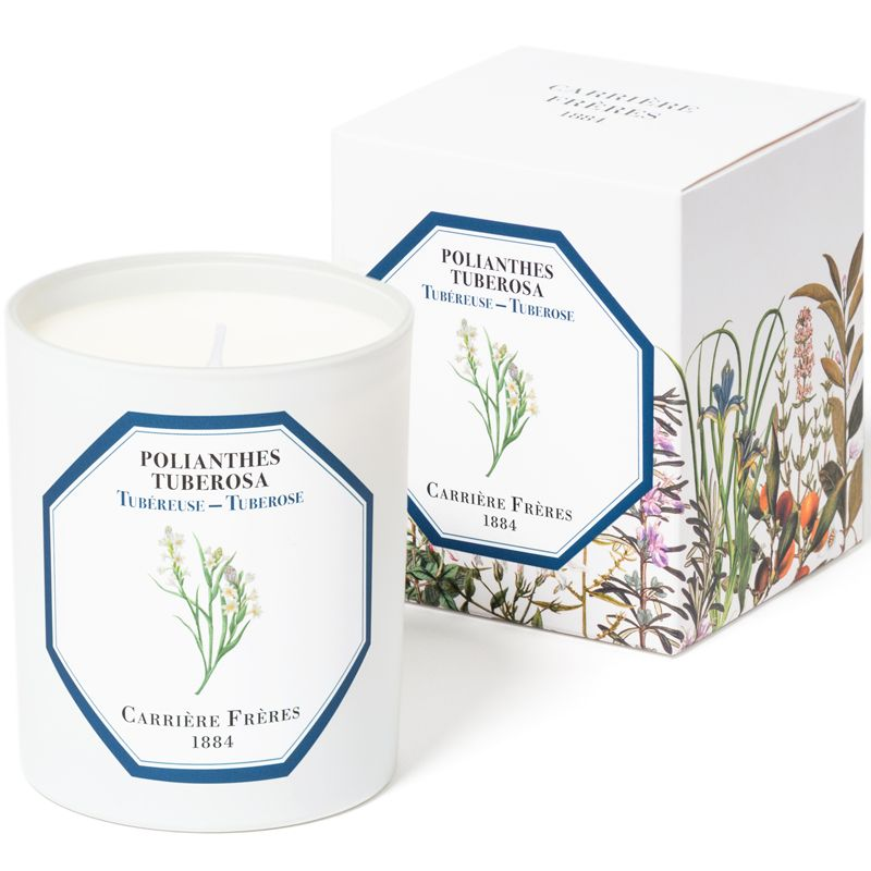Carriere Freres Tuberose Candle (6.5 oz) with box