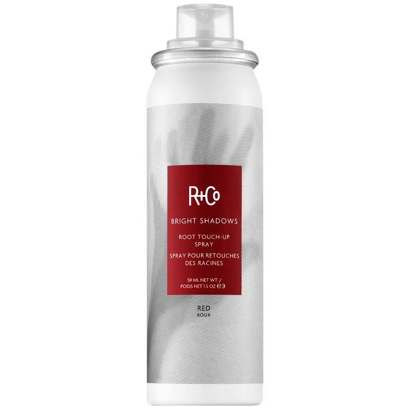 R+Co Bright Shadows Root Touch Up Spray - Red (1.5 oz)