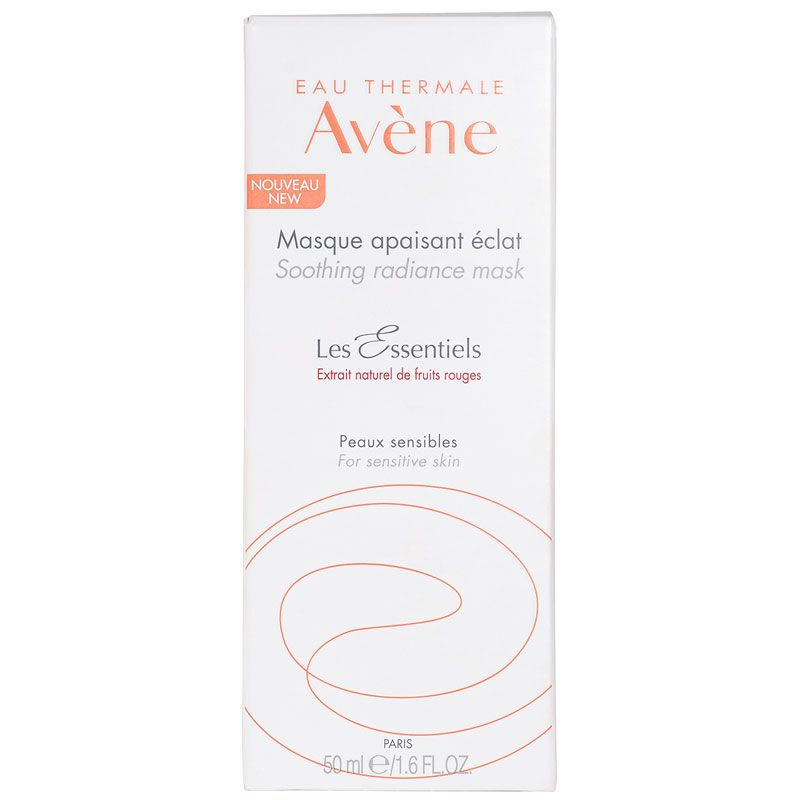 Eau Thermale Avene Soothing Radiance Mask (1.6 oz) box