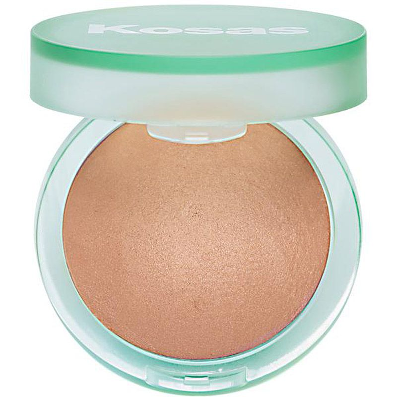 Kosas Cosmetics The Sun Show Baked Bronzer (Light) open compact
