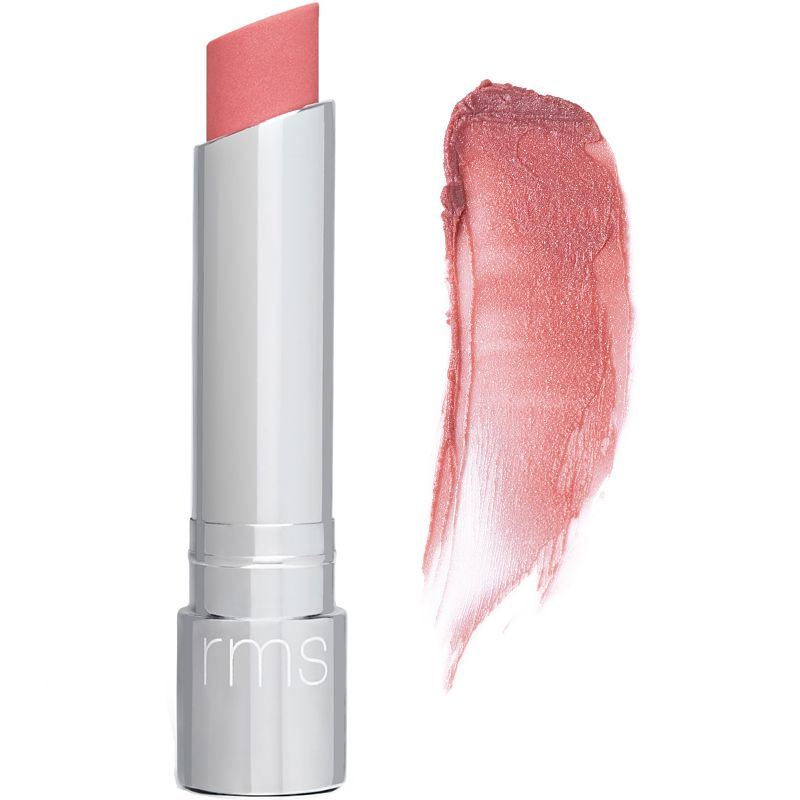 RMS Beauty Tinted Daily Lip Balm - Passion Lane (4.5 g) with swatch