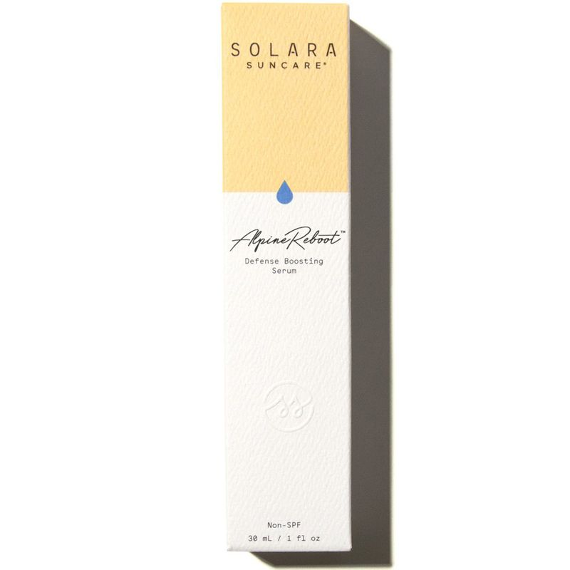 Solara Suncare AlpineReboot Defense Boosting Serum (Non-SPF) box