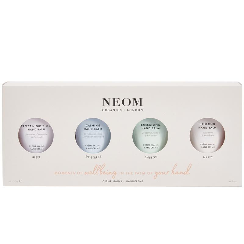 NEOM Organics Moments of Wellbeing in the Palm of Your Hand (4 x 30 ml) in box