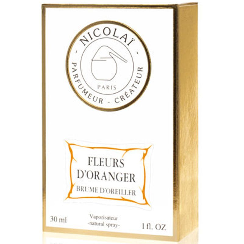 Parfums de Nicolai Fleurs d'Oranger Pillow Spray box