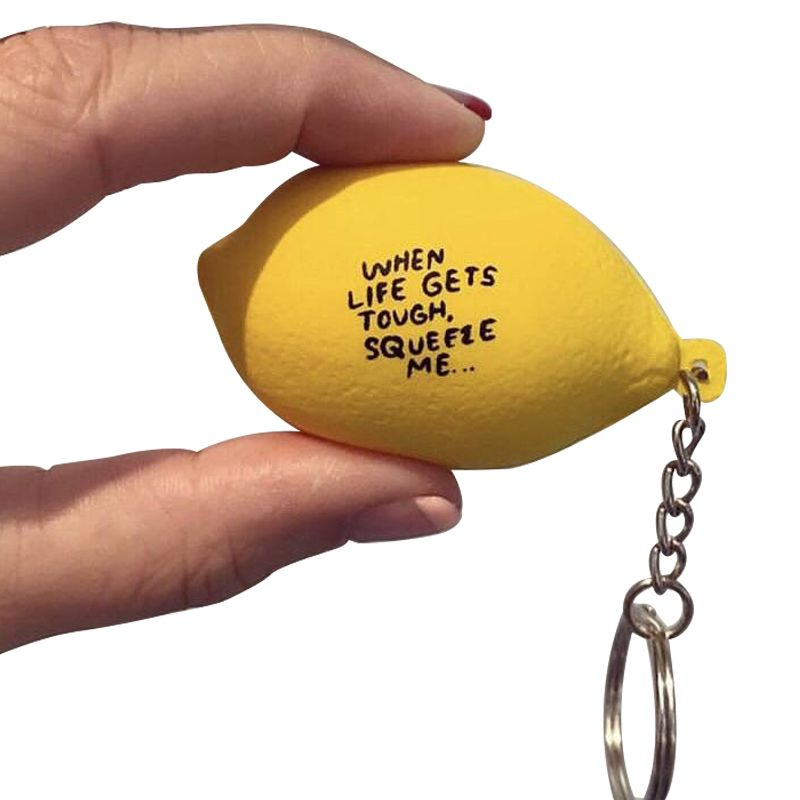 People I've Loved Limited Edition Lemon Stress Ball Keychain