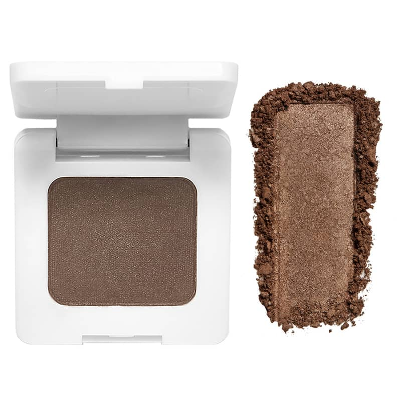 RMS Beauty Back2Brow Powder (Medium, 3.5 g) with color smear