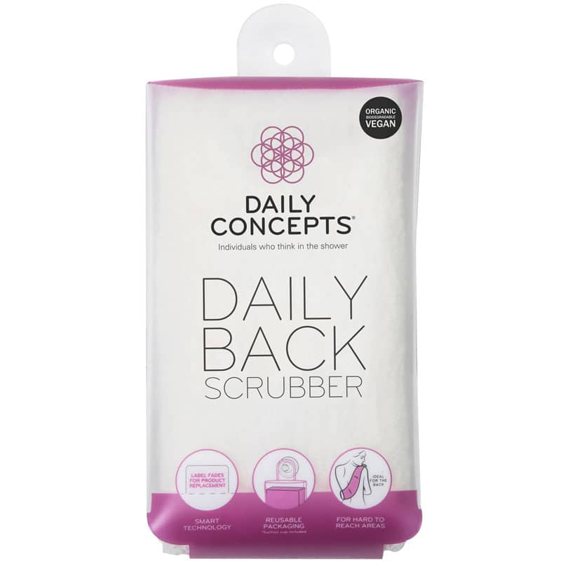 Daily Concepts Daily Back Scrubber in package
