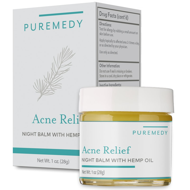 Puremedy Acne Relief Night Balm (1 oz)