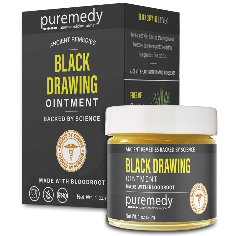 Puremedy Black Drawing Ointment (1 oz)