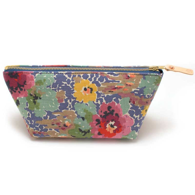 General Knot & Co. Vintage Indian Head Floral Travel Clutch