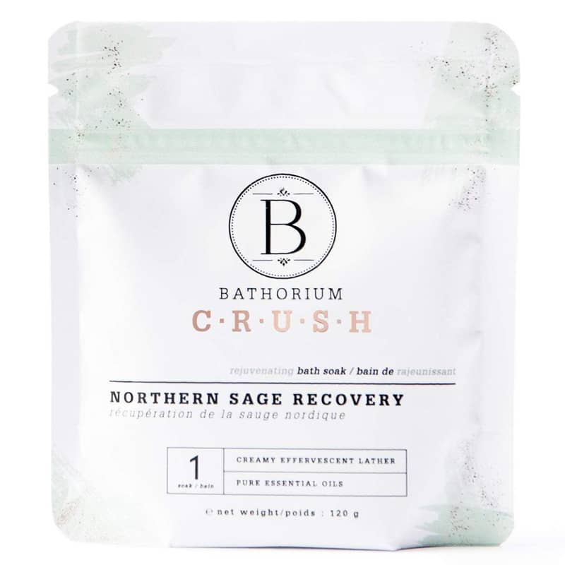 Bathorium Northern Sage Recovery Crush Bath Soak (120 g)
