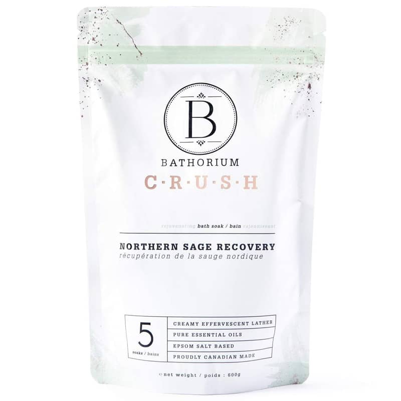 Bathorium Northern Sage Recovery Crush Bath Soak (600 g)