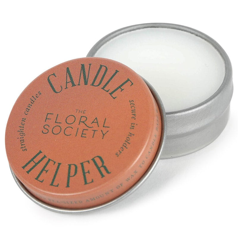 The Floral Society Candle Helper open jar
