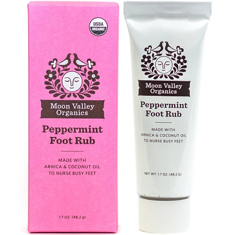 Moon Valley Organics Peppermint Foot Rub (1.7 oz)