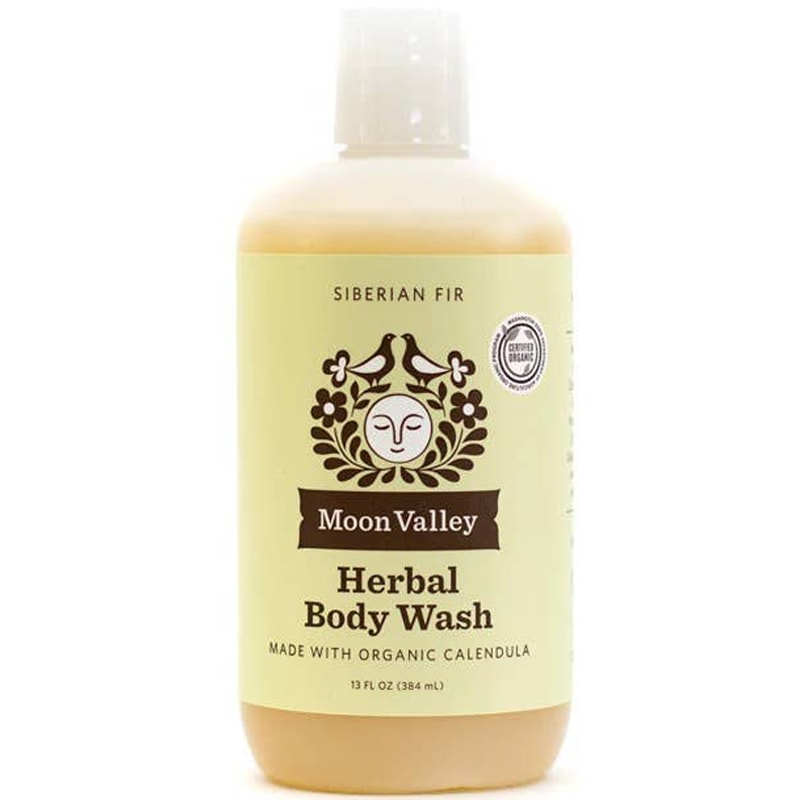 Moon Valley Organics Siberian Fir Herbal Body Wash (13 oz)
