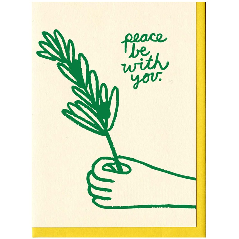 People I've Loved Peace Be With You Card (1 card + envelope)
