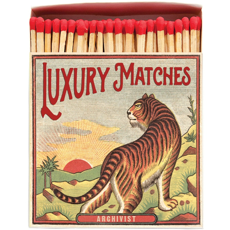 Archivist Tiger Matchbox (125 pcs)