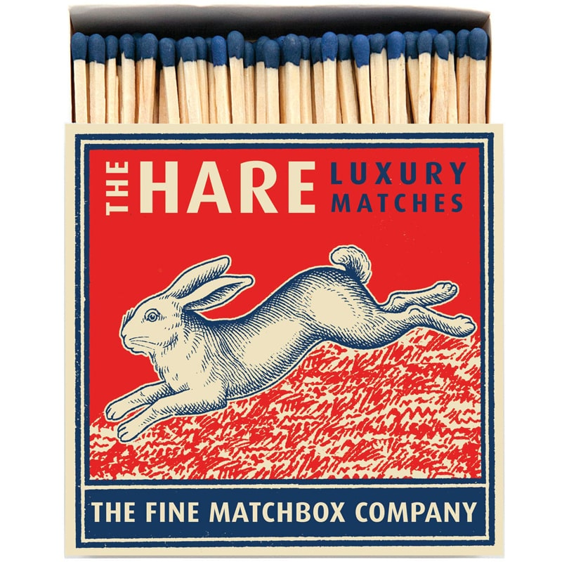 Archivist The Hare Matchbox (125 pcs)