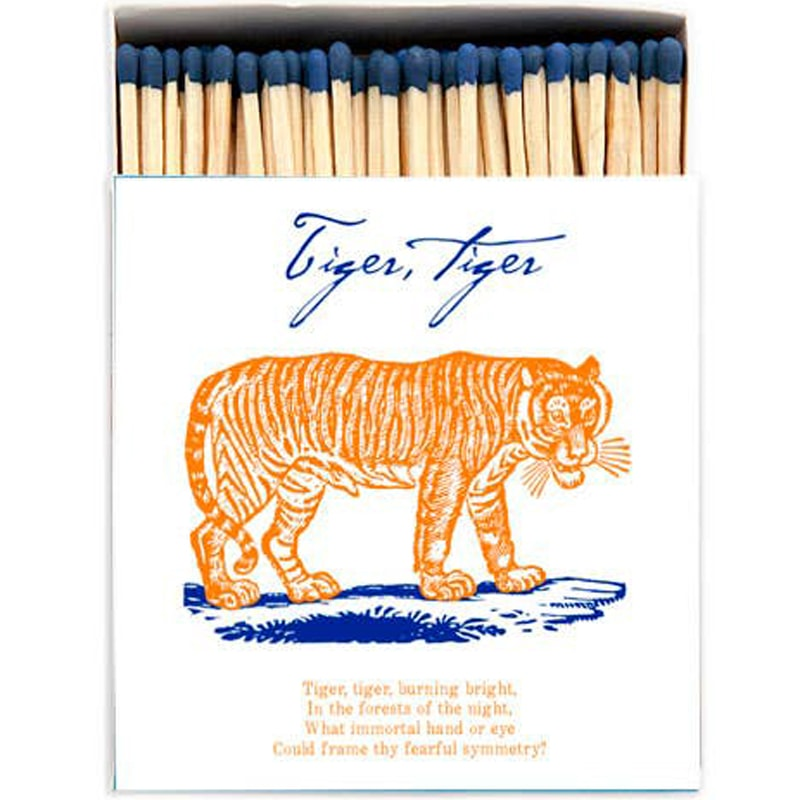 Archivist Tiger Tiger Matchbox (125 pcs)