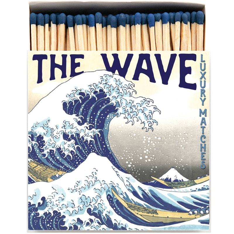 Archivist Hokusai Wave Matchbox (125 pcs)