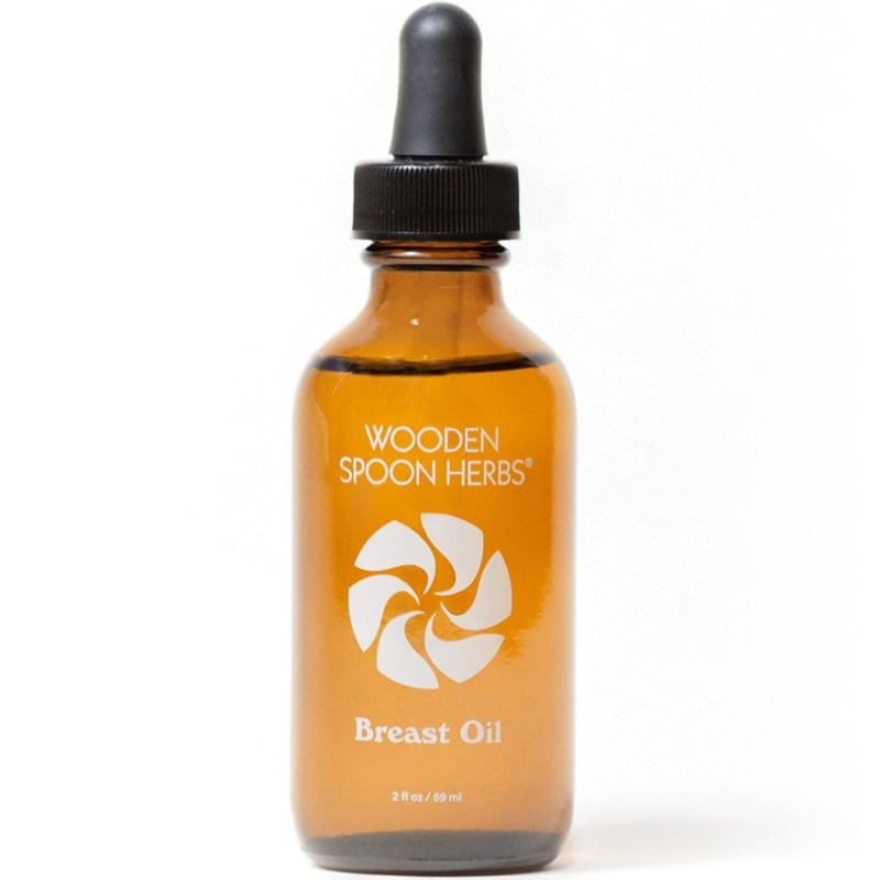 Wooden Spoon Herbs Breast Oil (2 oz)