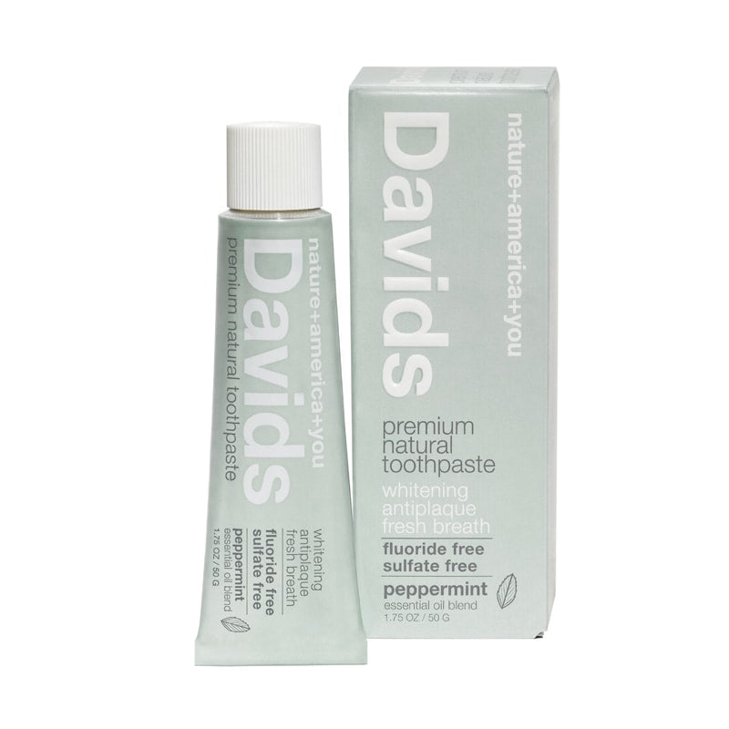 Davids Premium Natural Toothpaste Travel Size (1.75 oz)