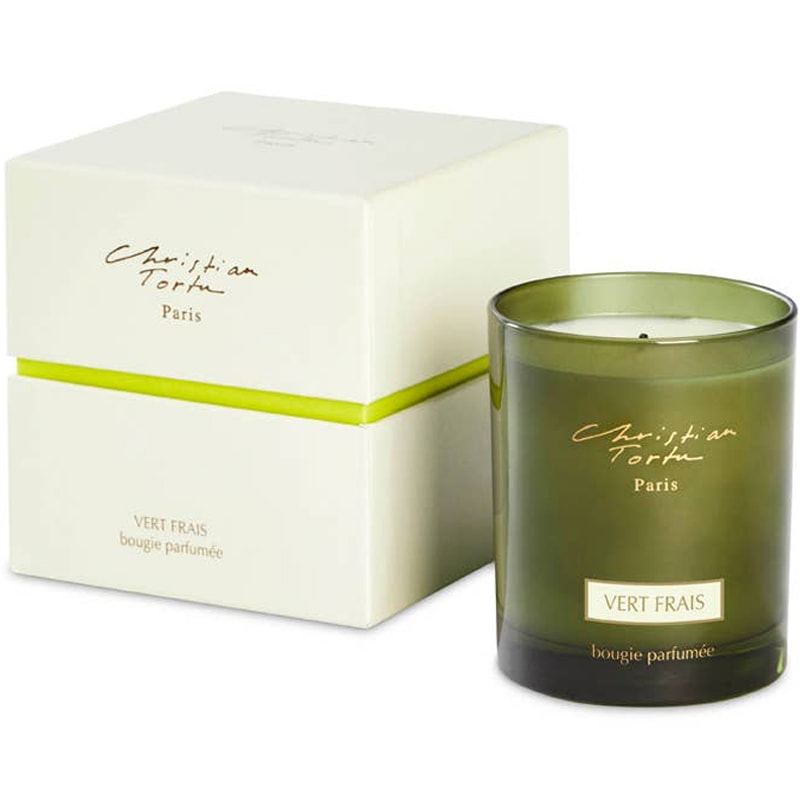 Christian Tortu Fresh Green Scented Candle (190 g)