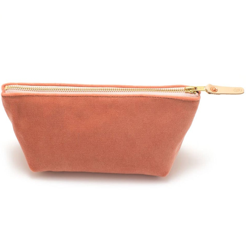 General Knot & Co. Cameo Velvet Travel Clutch side view