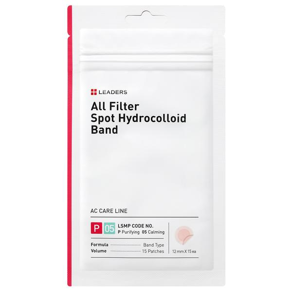 Leaders Cosmetics All Filter Spot Hydrocolloid Band (15 patches)