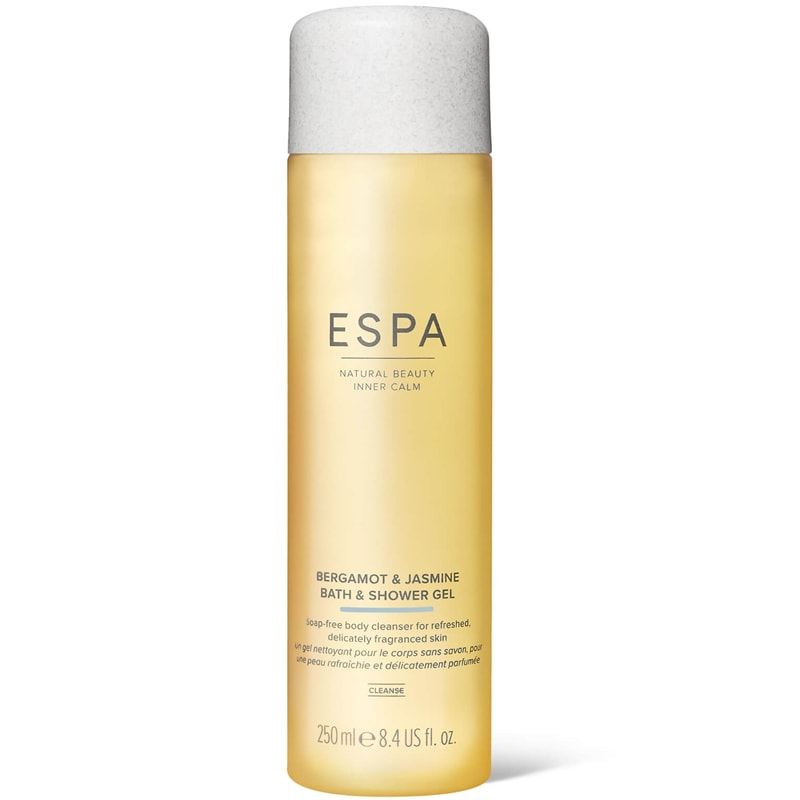 ESPA Bergamot & Jasmine Bath & Shower Gel (250 ml)