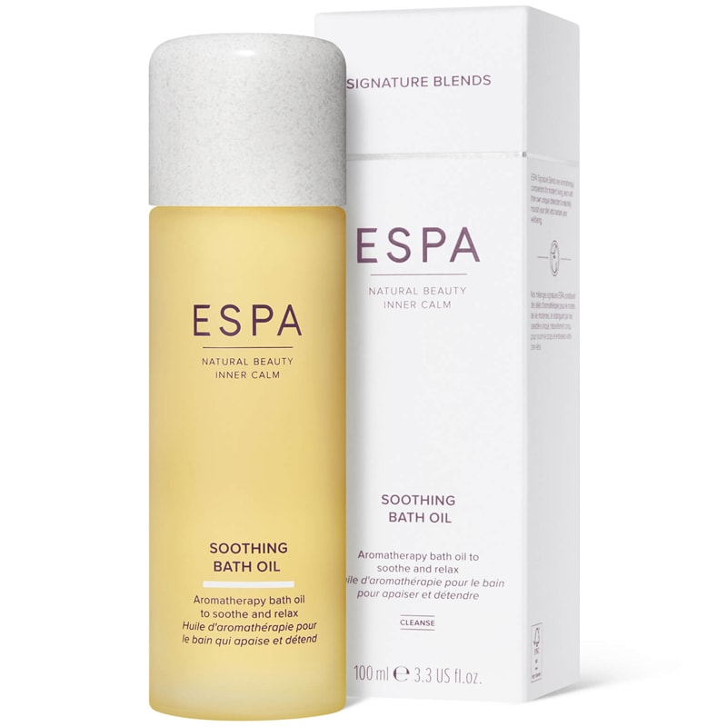 ESPA Soothing Bath Oil with box