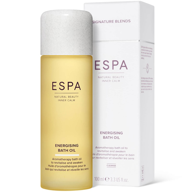 ESPA Energizing Bath Oil with box