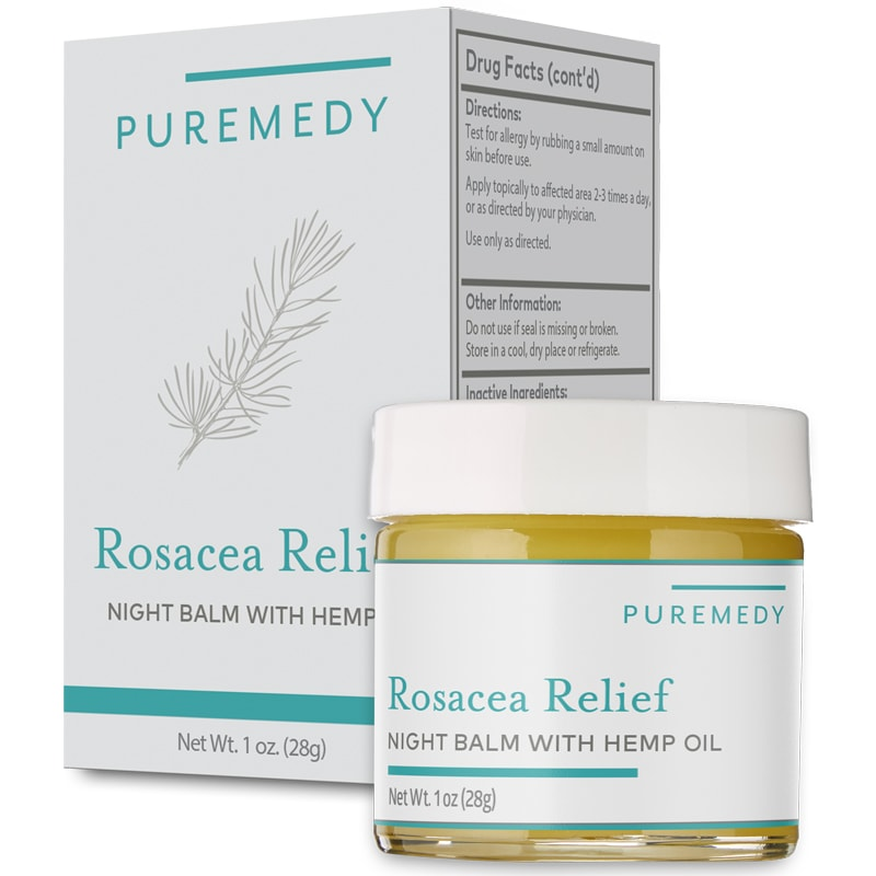Puremedy Rosacea Relief Night Balm (1 oz)