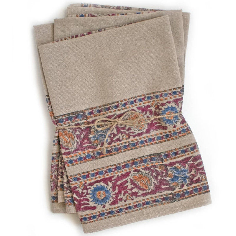 From Mila Serafina Napkins shown folded (2 pcs)