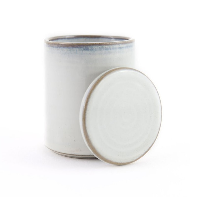 Yarnnakaran Ceramics Rustic Mini Jar with lid