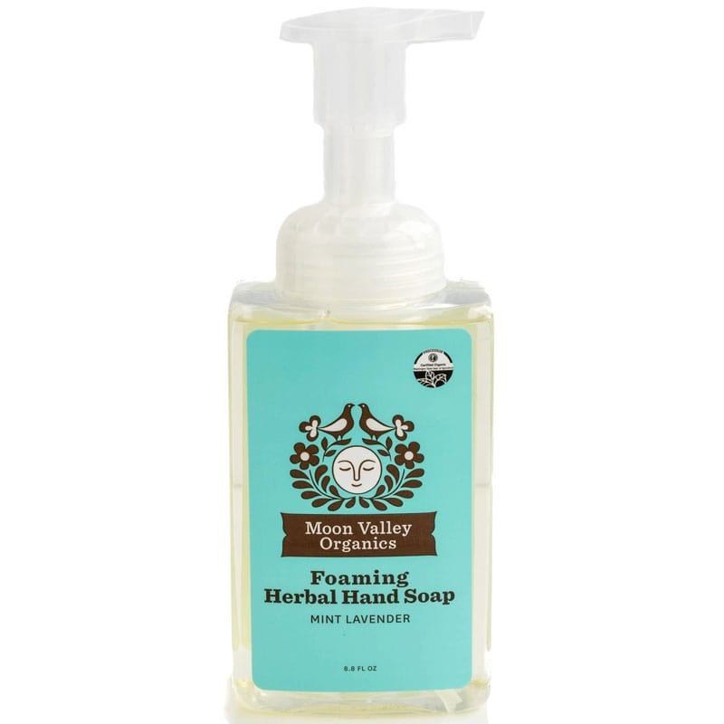 Moon Valley Organics Mint Lavender Foaming Herbal Hand Soap (8.8 oz)